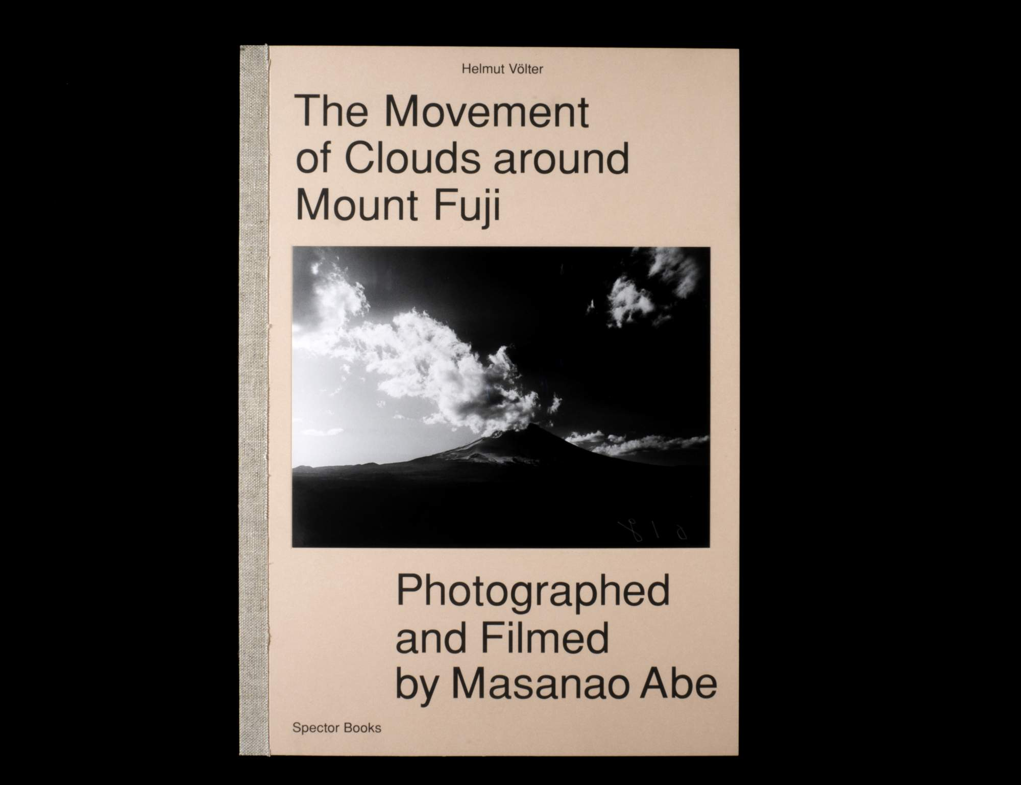 The Movement of Clouds around Mount Fuji   Spector Books